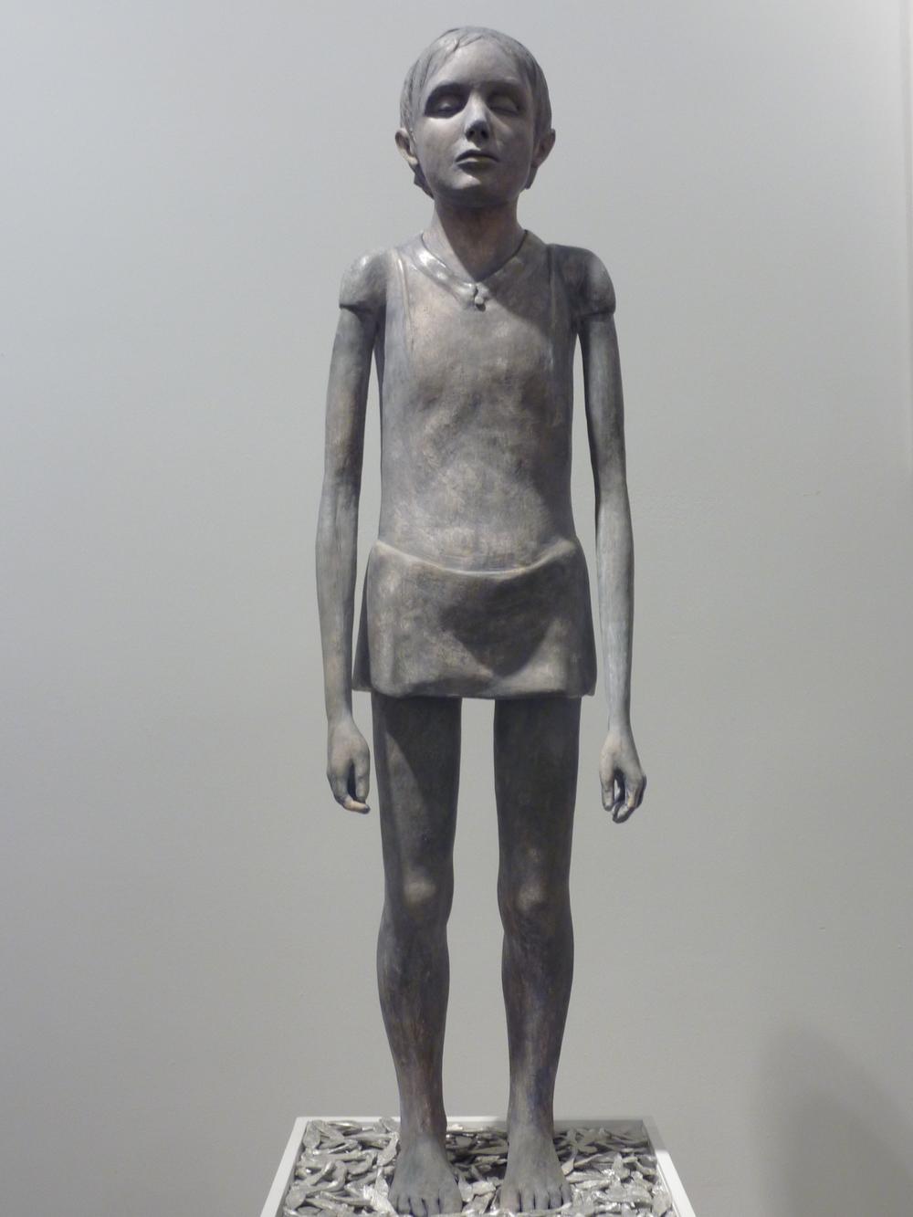 "Souvenir, 40 x 13 x 9"", Plaster, 2010"