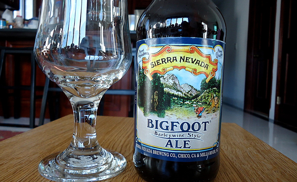 Sierra Nevada BigFoot-Front Label