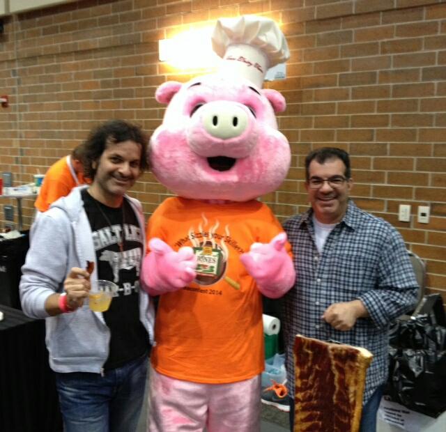 Lon Taylor & Craig Taylor at Baconfest