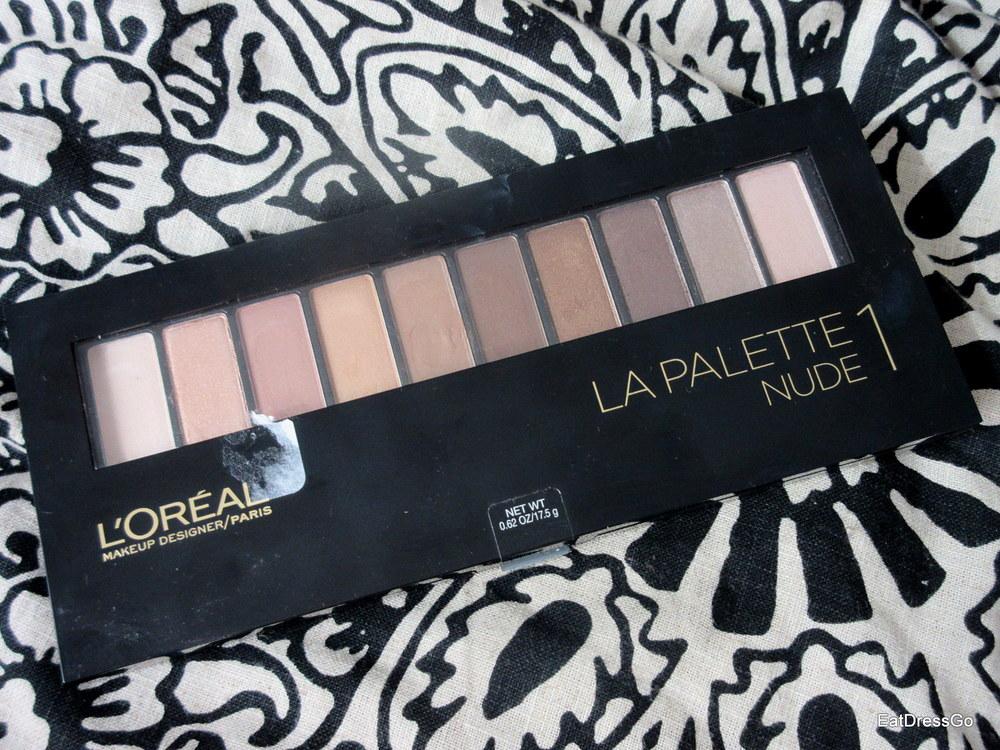 L'Oreal La Palette Nude 1