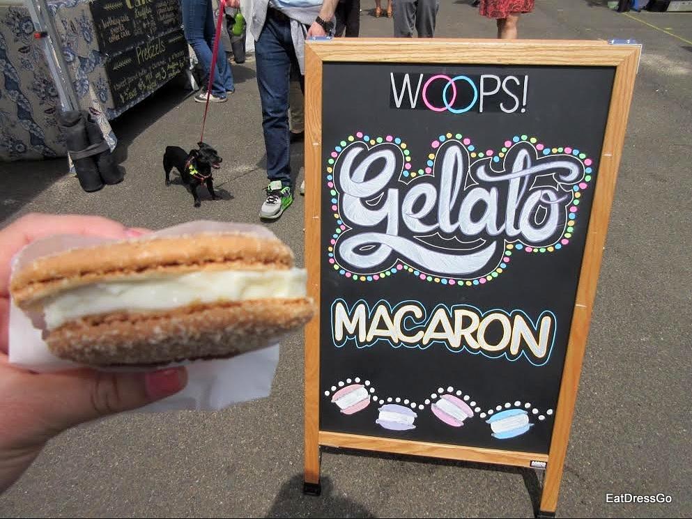 Coconut Gelato Macaron Sandwich_WOOPS!