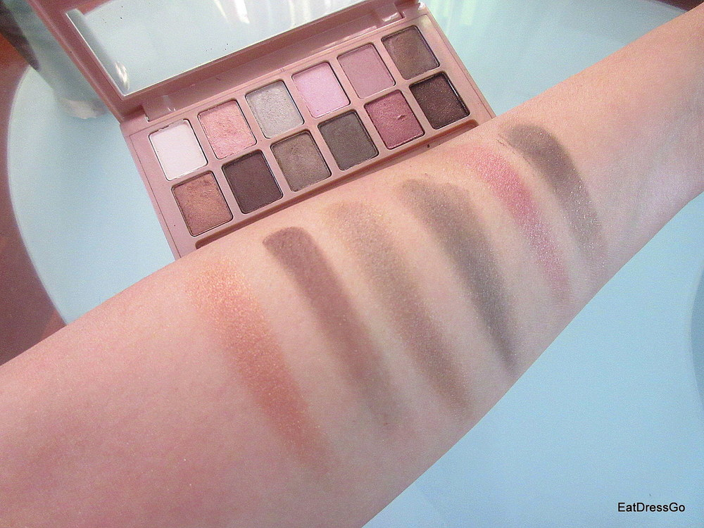 Makeup Drawer: Maybelline The Blushed Nudes