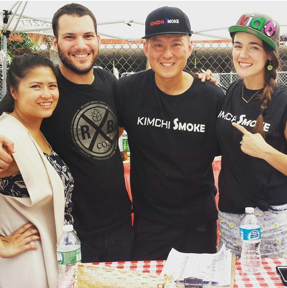EatDressGo, Kimchi Smoke and AstoriaAbout at Smorgasburg Queens