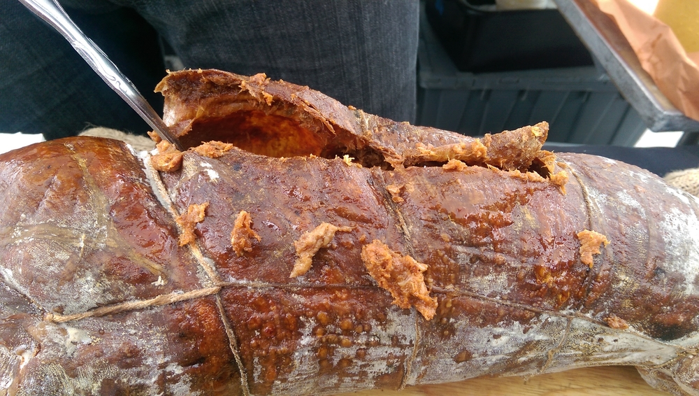 Ends Meat-This is the amazing thing that housed the spreadable sausage-Spreadable Pork Calabria