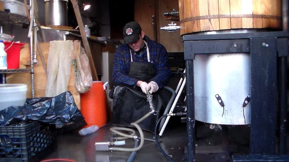 Rich Brewing In The Garage-Bridge and Tunnel
