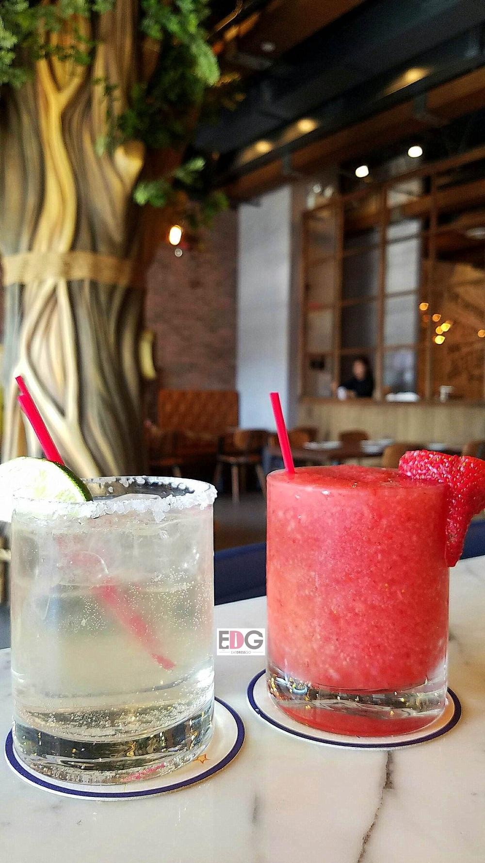Pizzamaru_Margarita and Strawberry Daiquiri.jpg