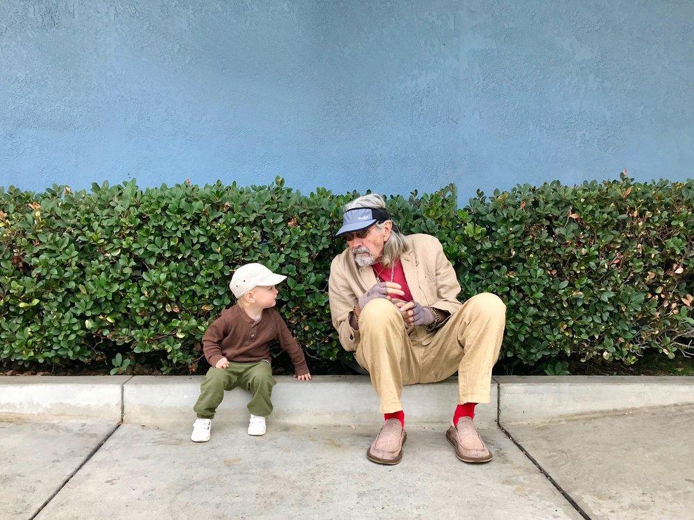 Auggie & Grandpa Daniels - LA DMV