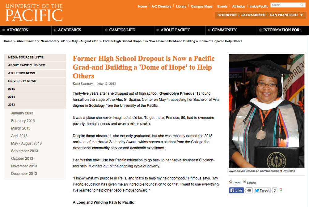 University of the Pacific story Gwendolyn Primous.png
