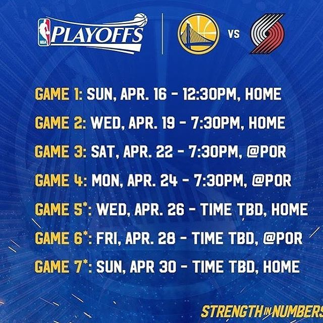 Warriors #SuperFans!!! 💙💛Are you ready to WIN Playoff Tickets?! Join the Super Fan Chase - Playoff Edition Scavenger Hunt and #Play2Win *link in the bio* 📲#PlayoffTickets #WIN 🥇#GoWarriors 🏀