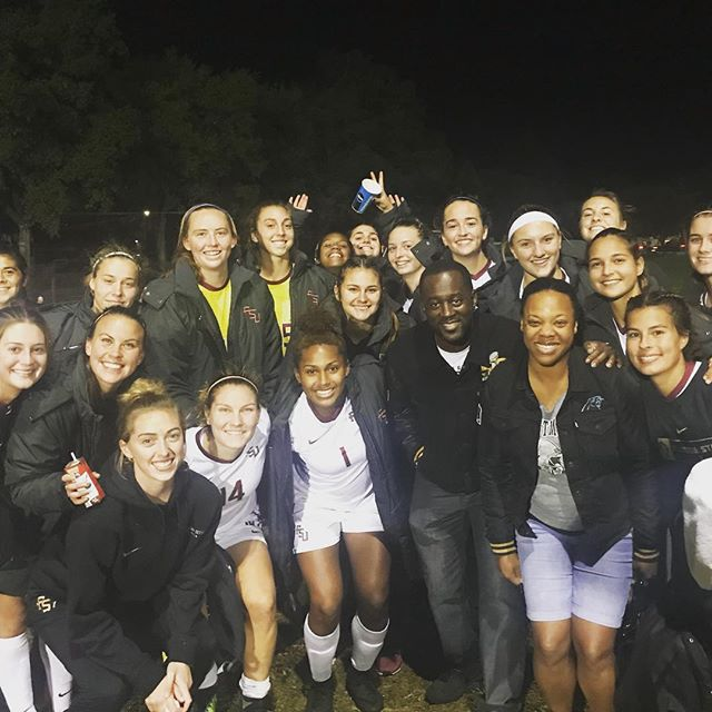 Celebrating w #FSU soccer team after their win is best celebration ever!  #hightowerchase #purposedriven #exclusive