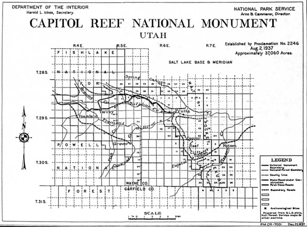 Read more about Capitol Reef here