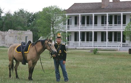 Fort Laramie was established in 1834 and is the most well known military post on the northern plains until it was abandoned in 1890
