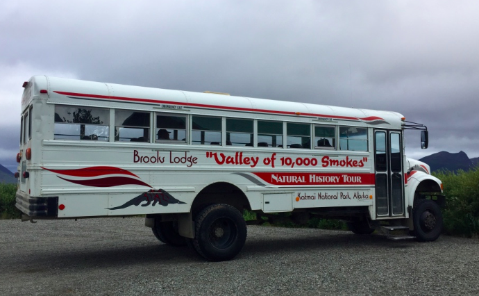 The bus that takes you out to the valley