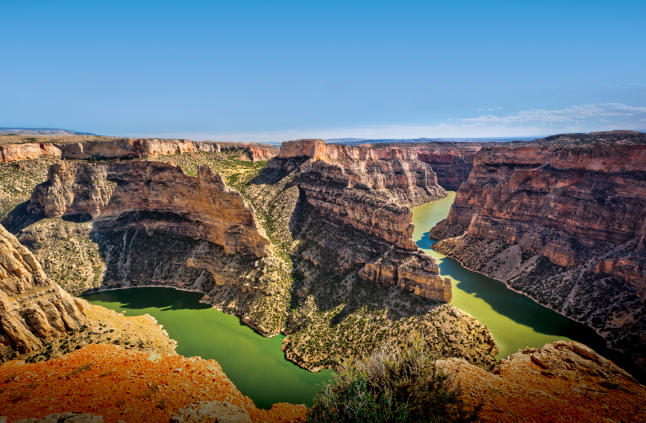 Bighorn Canyon National Recreation Area in Montana