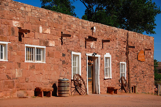 Hubbell Trading Post in Ganado, Arizona