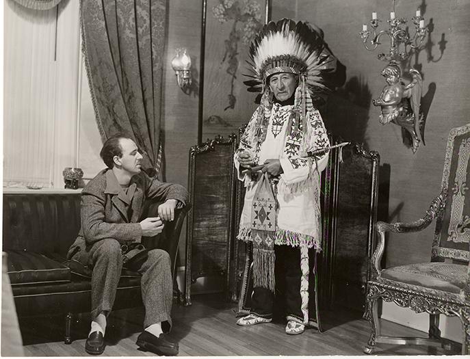 Henry  Standing Bear and  Korczak Ziolkowski