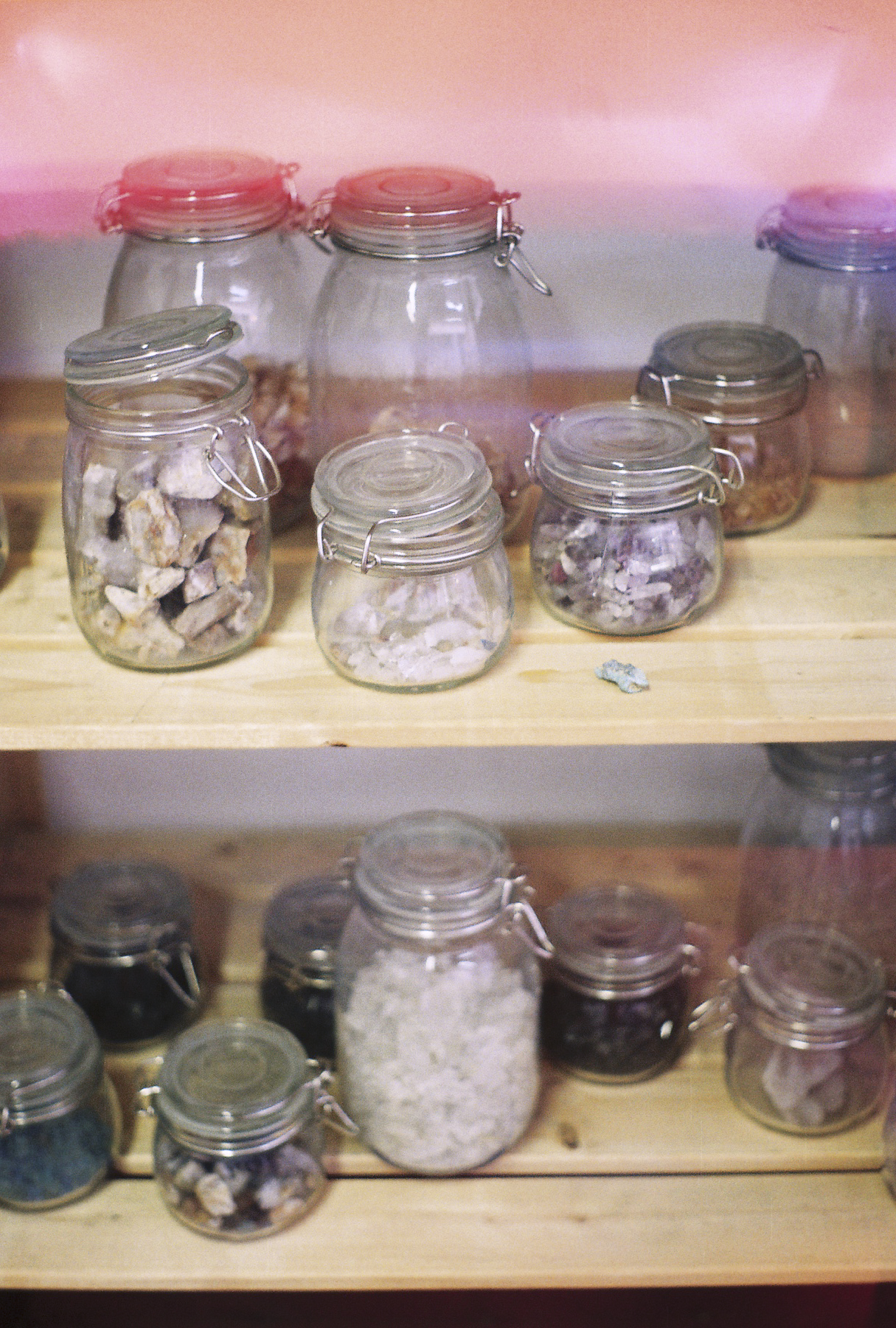 Jars of Crystals