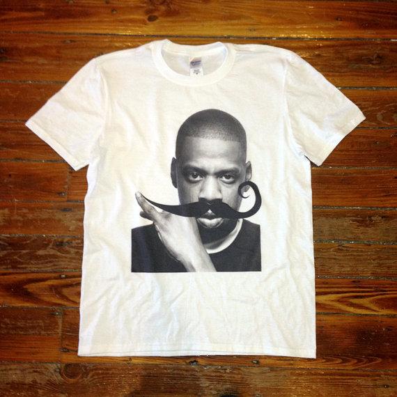 Jay Z Mustache T