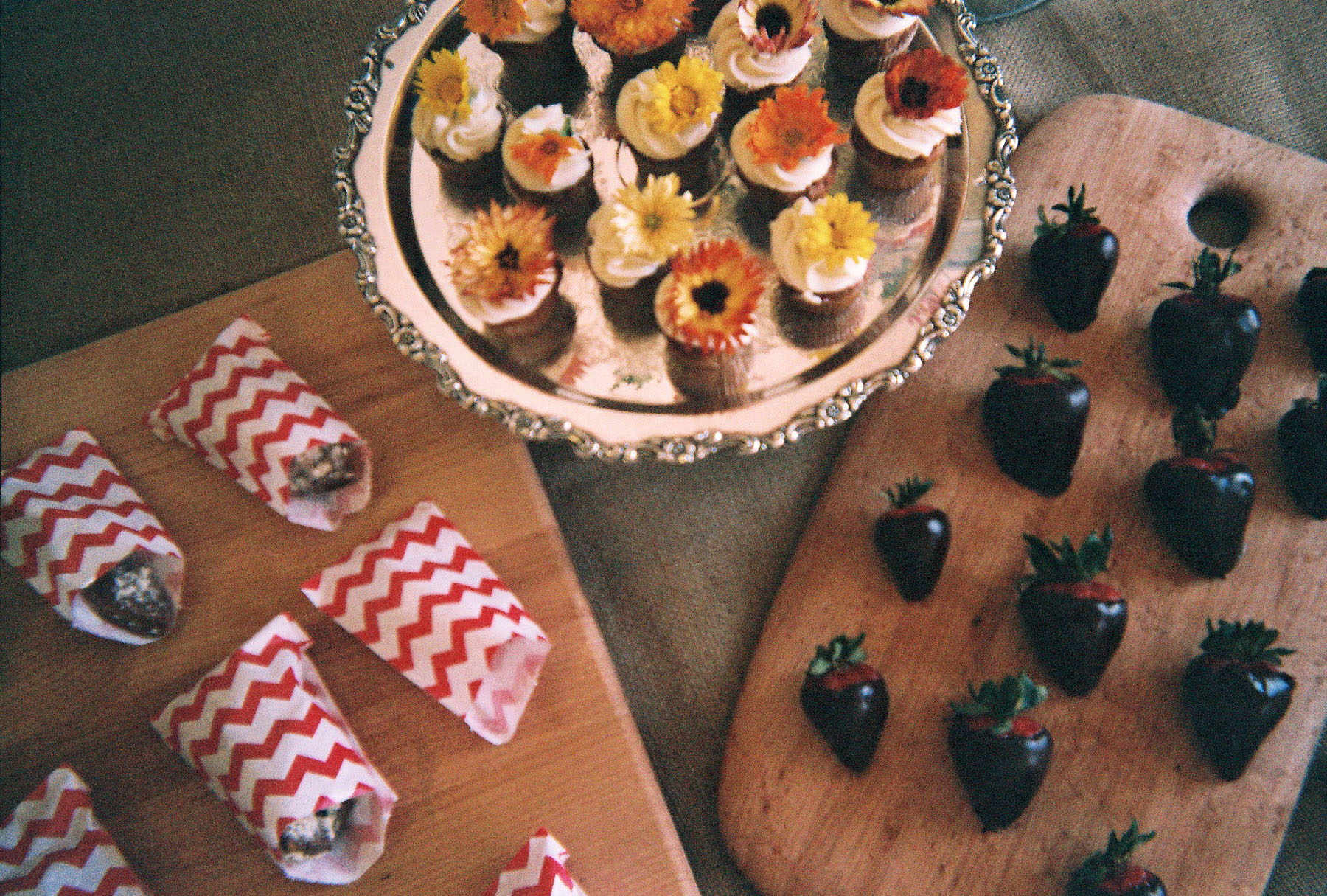 The Analog Project // Valleybrink Road catering