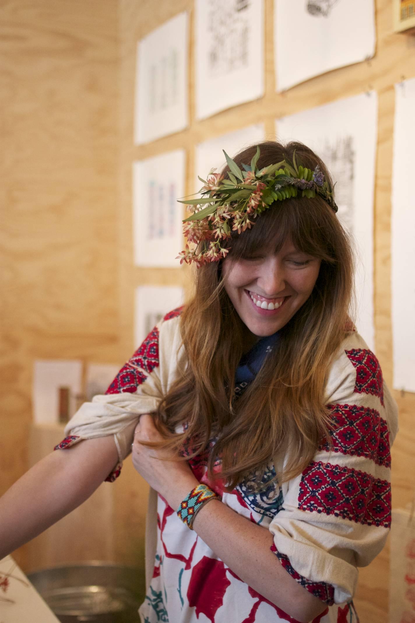 Just Say Native at Moon Canyon x Poketo workshop