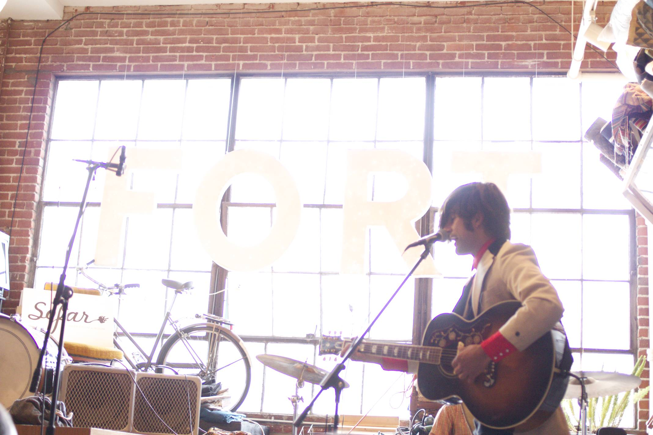 Ferocious Few at BUNCH Mag x Sofar Sounds show at FORT