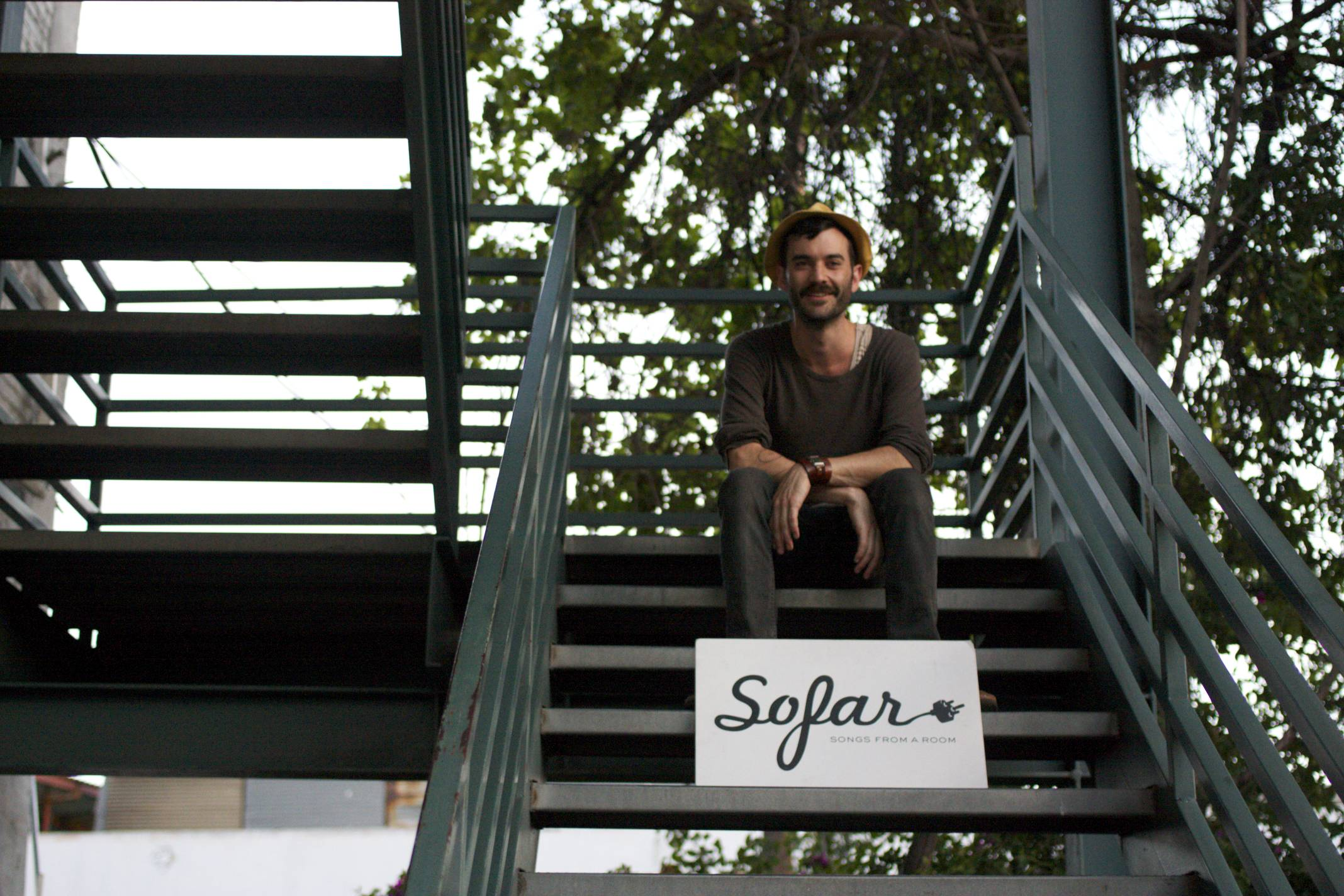The Californian at BUNCH Magazine x Sofar Sounds show at FORT
