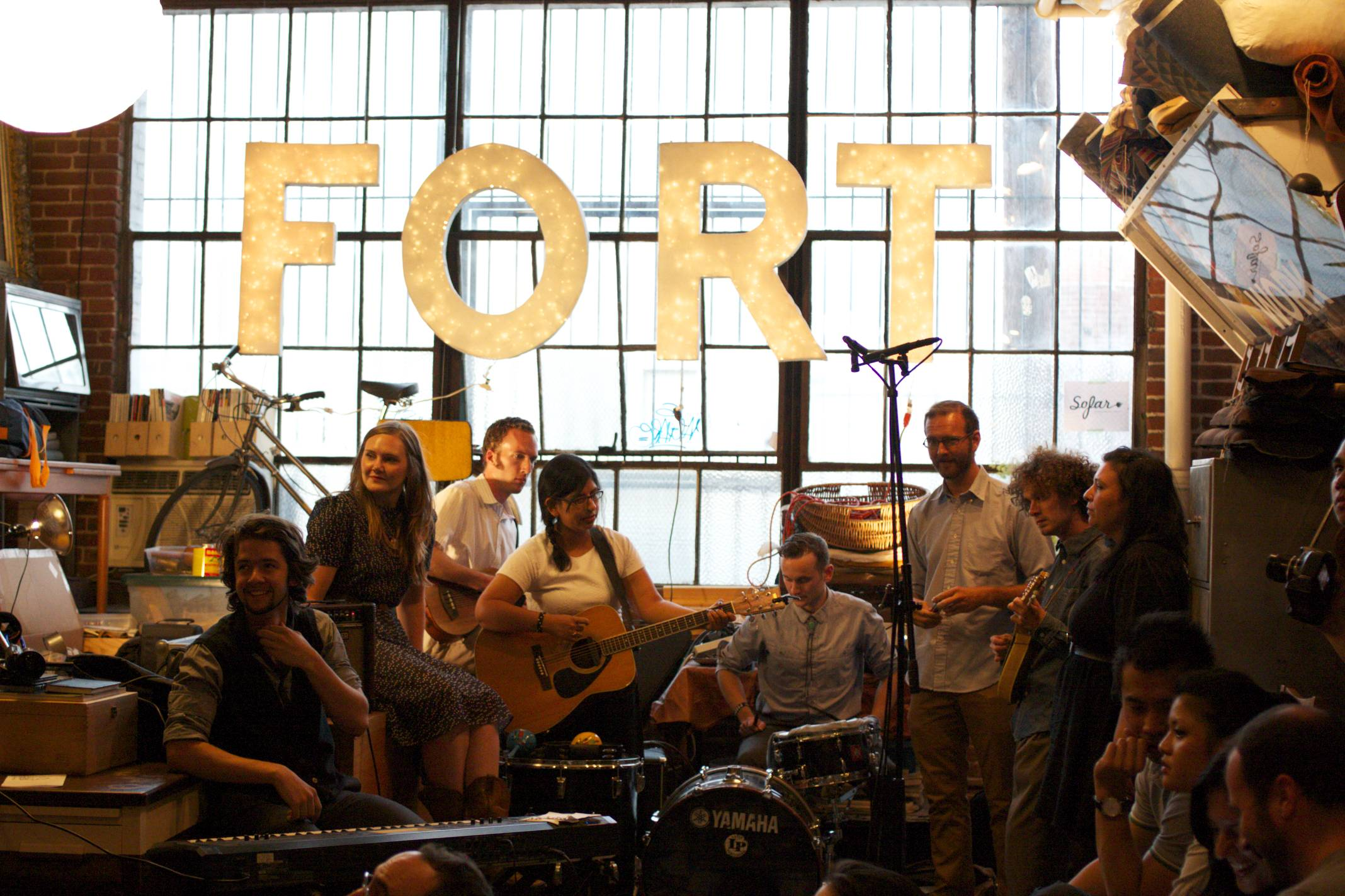 The Eagle Rock Gospel Choir at BUNCH Magazine x Sofar Sounds show at FORT
