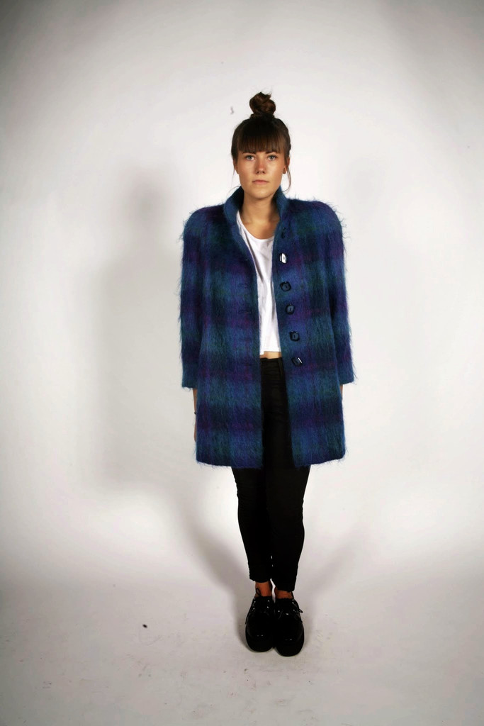 In Collaboration With Cool - Alorna Mohair Coat