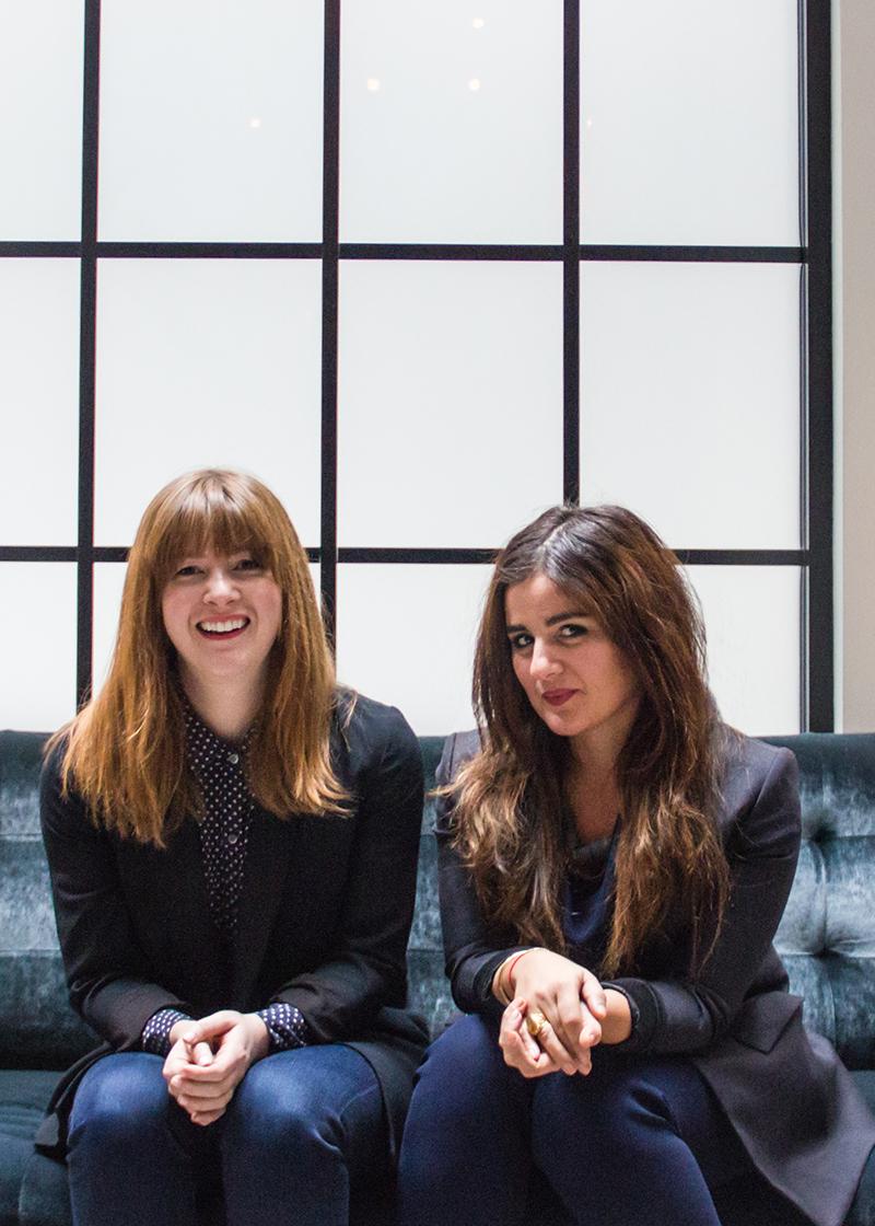 L-R: Emily Schildt and Naz Riahi. Photo courtesy of Leah Pellegrini