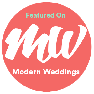 Featured on Modern Weddings Blog Katelyn Prisco Photography