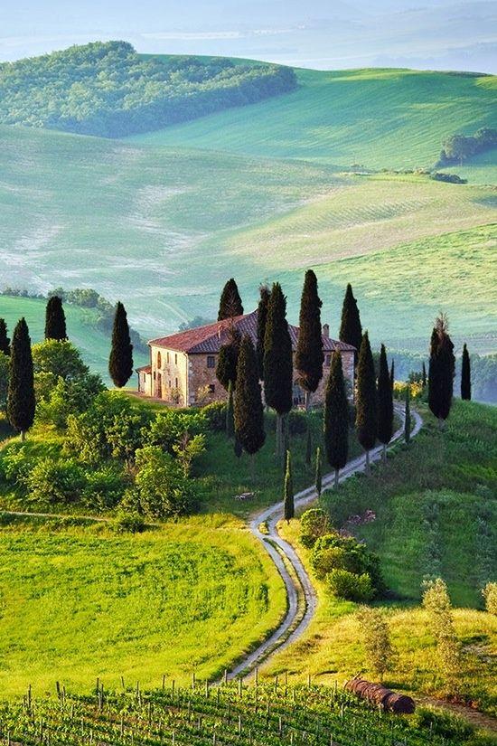 Italian countryside #HBRMethod