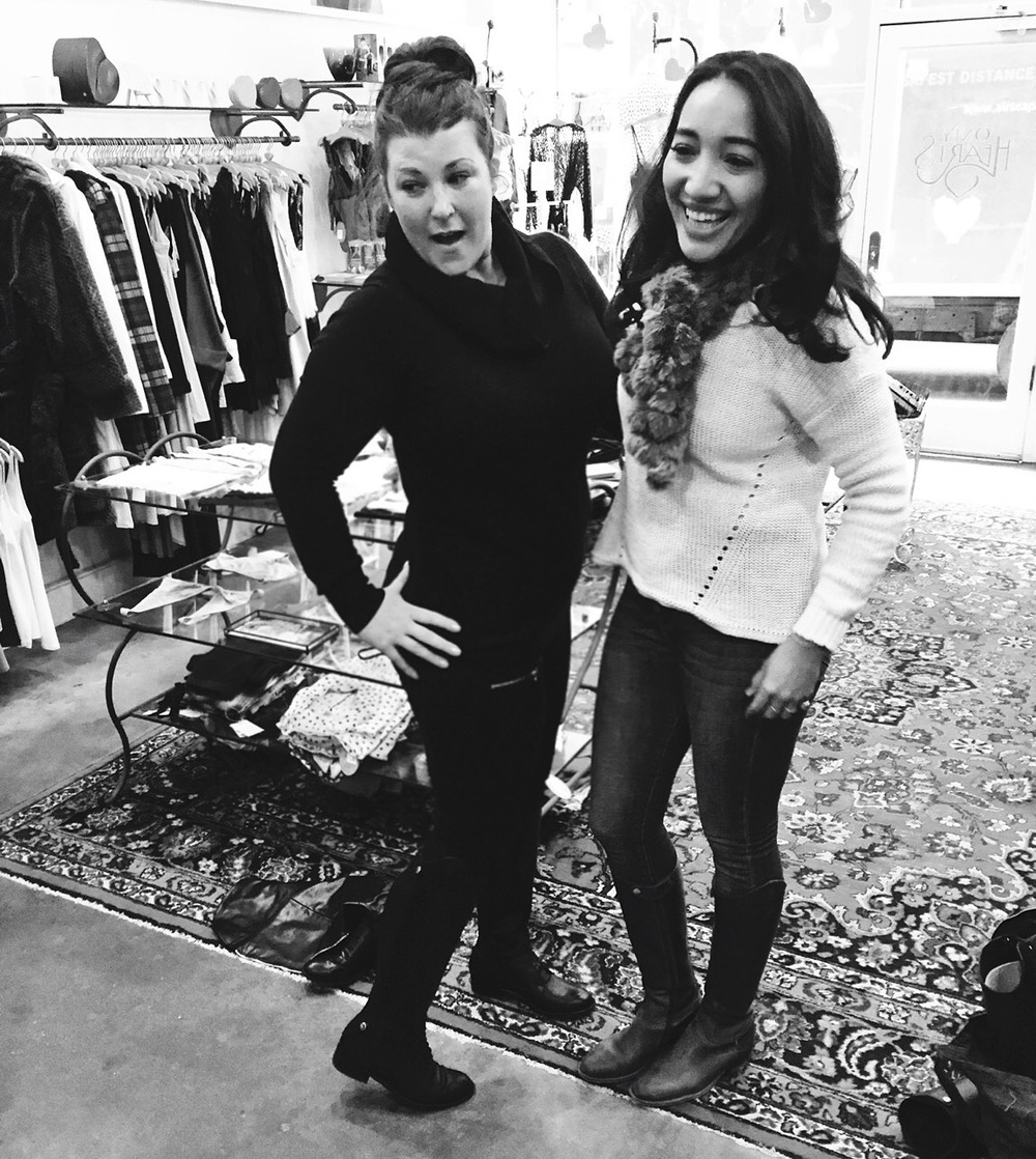 sarah centrella in jj gray boots #HustleBelieveReceive