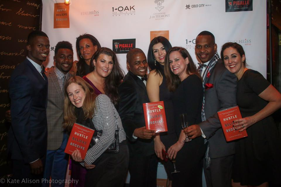 Just a few of the amazing people who's stories are featured in HBR at the red carpet launch party.