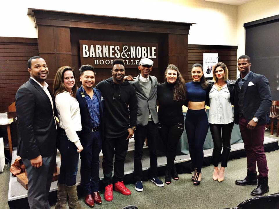Part of the amazing crew featured in HBR at the book signing at The Grove in Los Angeles 2016