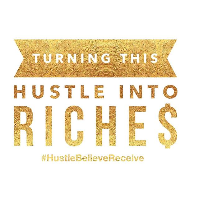 It's about that time! #hustle #getthatmoney #hustlebelievereceive #hbrmethod @hustlebelievereceive @sarahcentrella