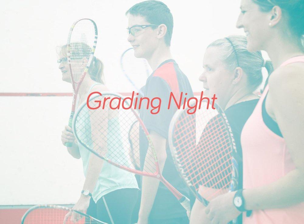 Grading night