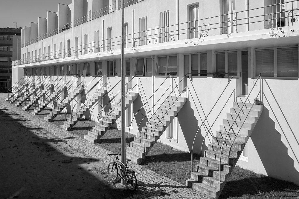 Conjunto Habitacional Bouça (social housing), Porto, Portugal, Alvaro Siza, 1973/2006