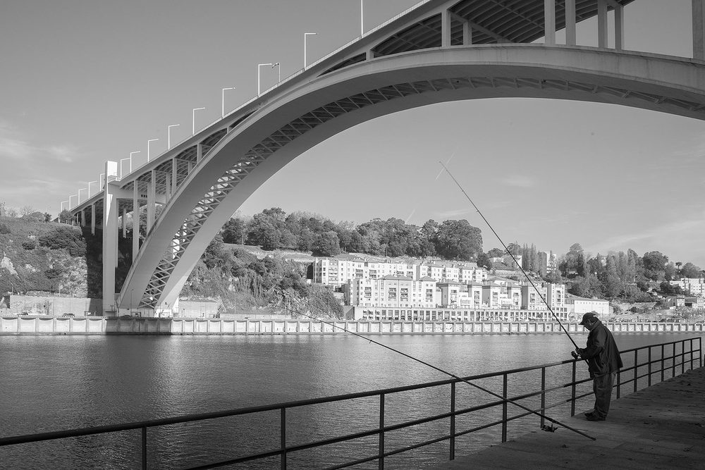 Arrabida Bridge, Porto Portugal, Edgar Cardoso, 1963