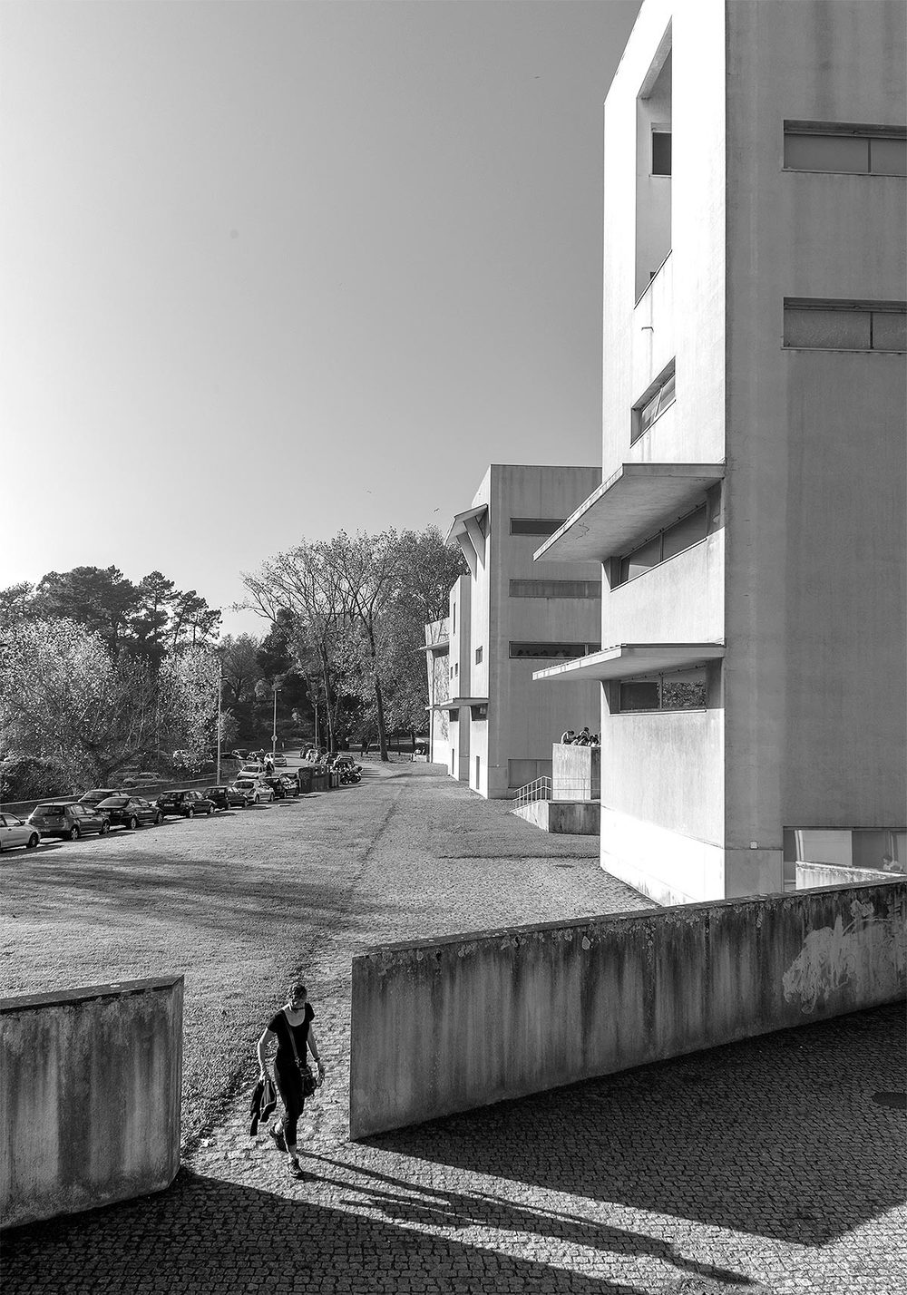 Faculty of Architecture, University of Porto, Porto, Portugal, Alvaro Siza, 1995