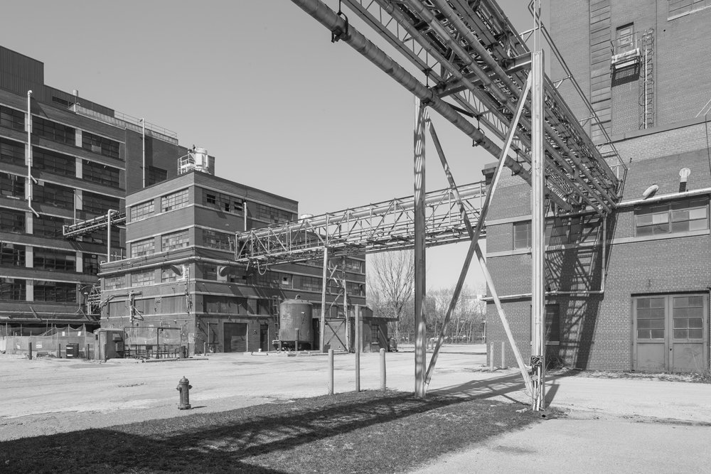 Liquids Manufacturing Building, view from the southeast