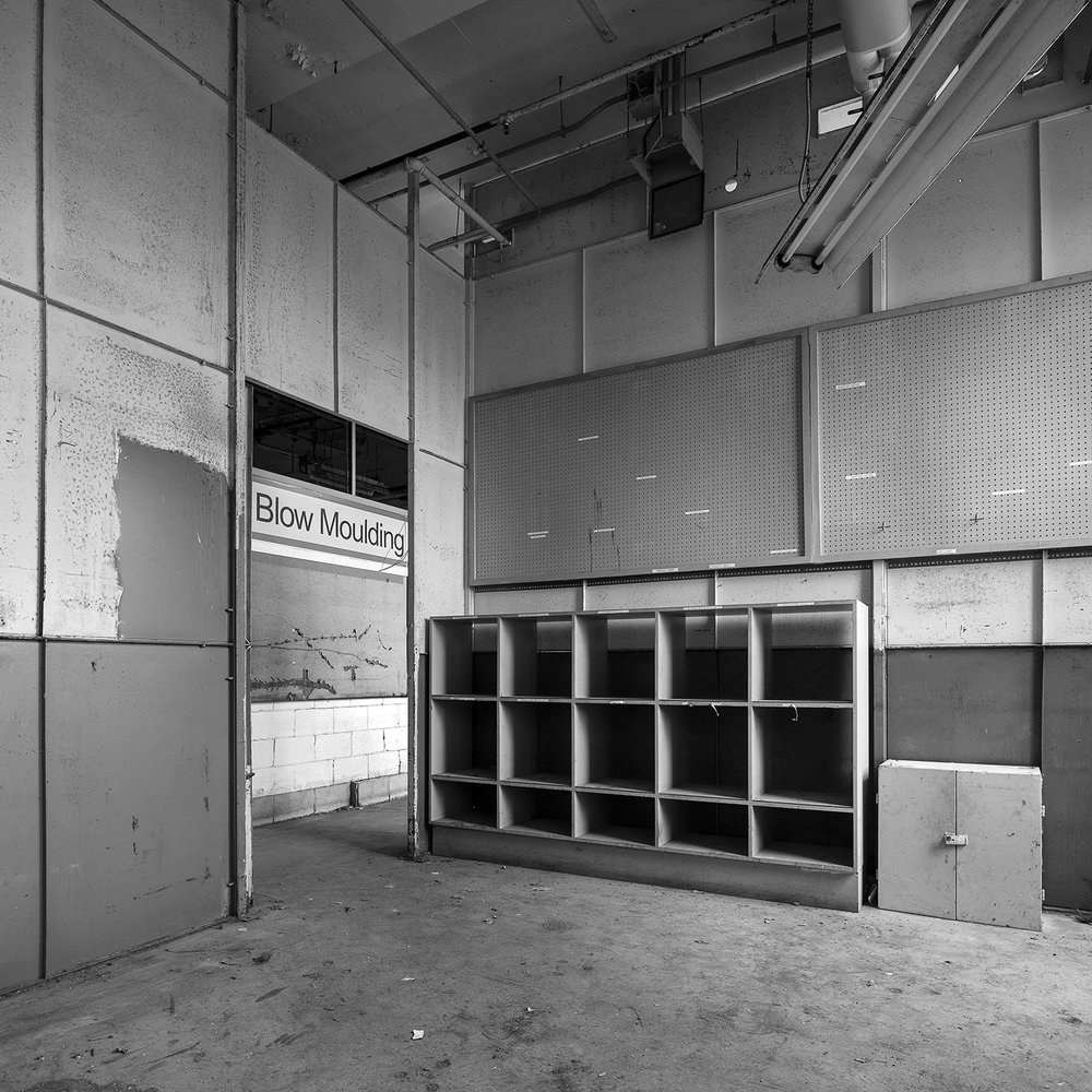 Mould Storage Cabinets, 4th floor, Finishing Building