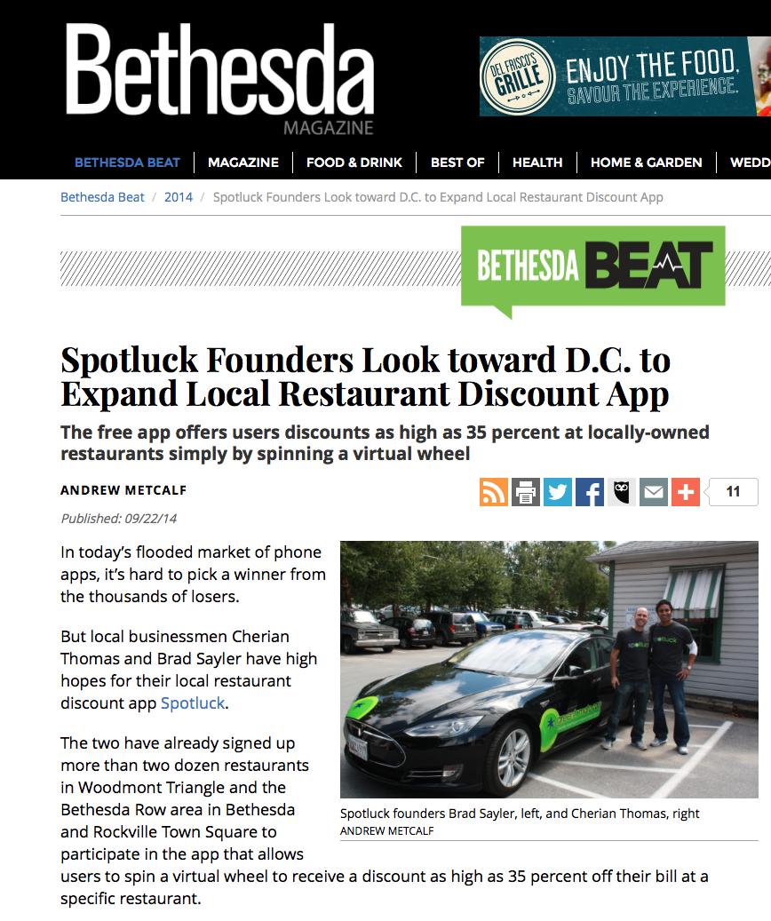 Bethesda Magazine - Bethesda Beat