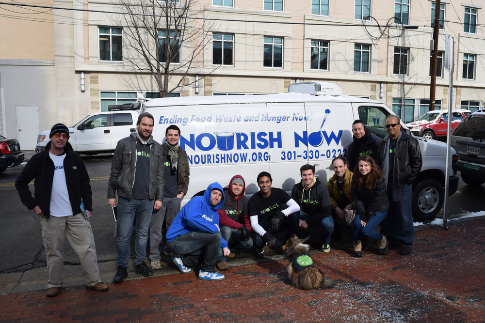 Spotluck Potluck: Nourish Now & Spotluck Team Up For The Children's Inn At NIH