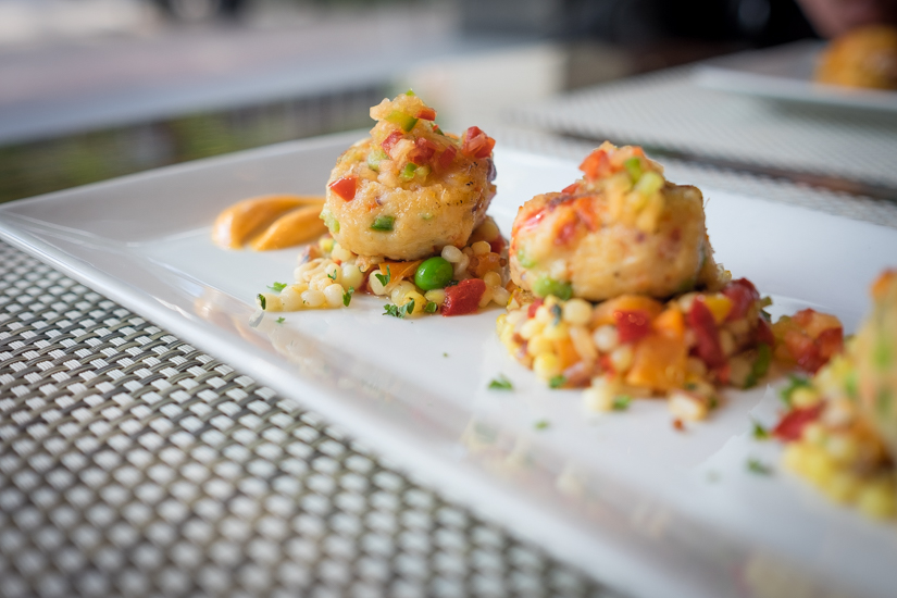 Mini-Lobster-Crab-Cakes-Papaya-Chutney-A-Town-Ballston-Virginia
