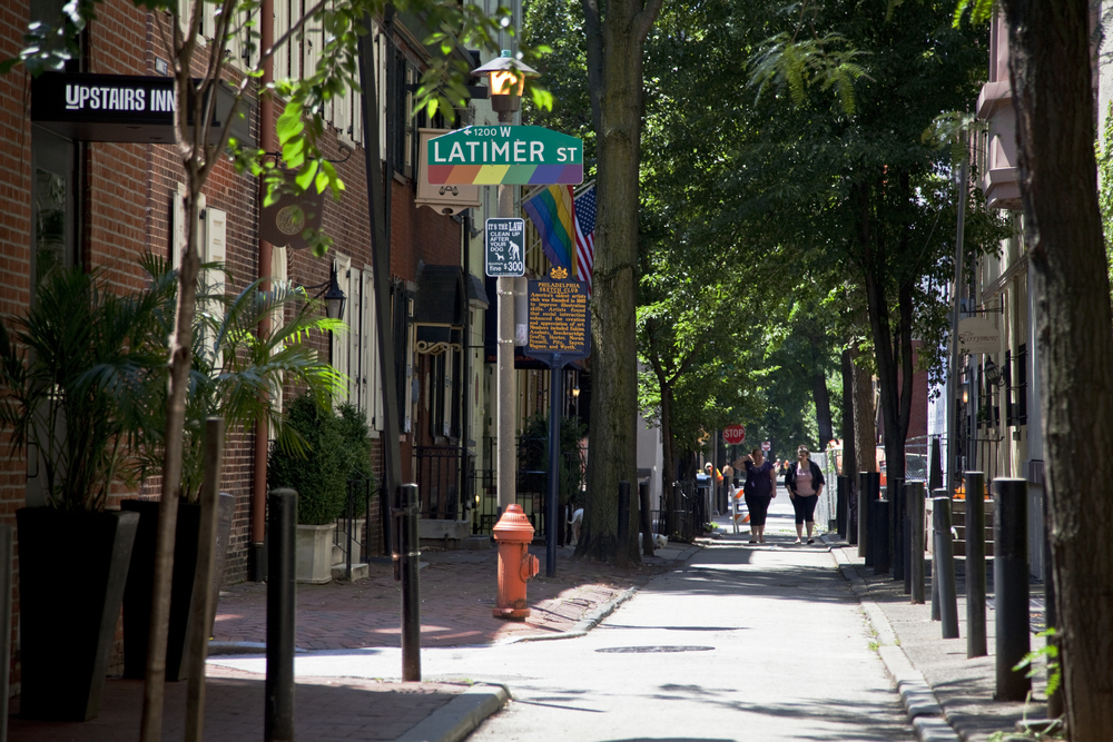Camac Street - Photo by R. Kennedy for Visit Philadelphia™