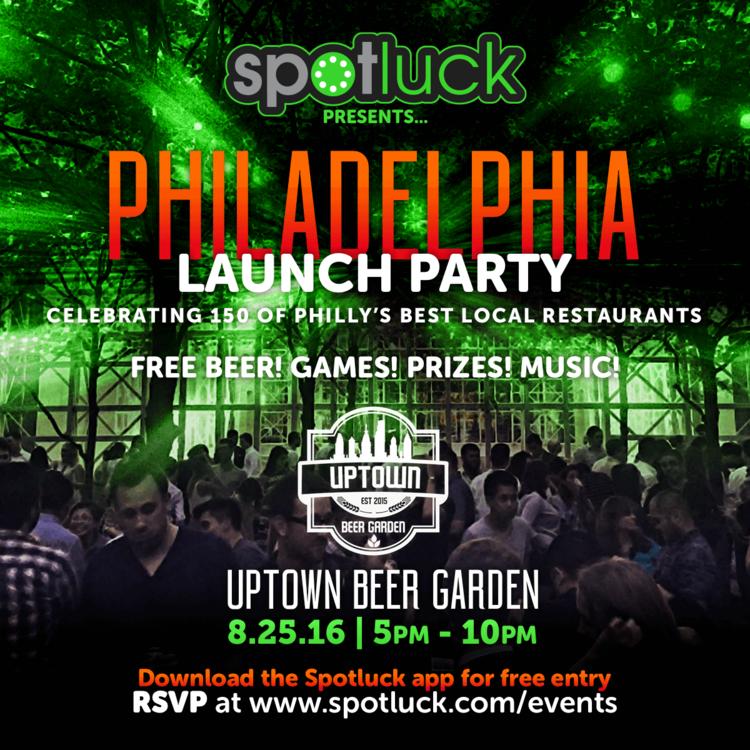 Spotluck Philadelphia Launch Party — Spotluck