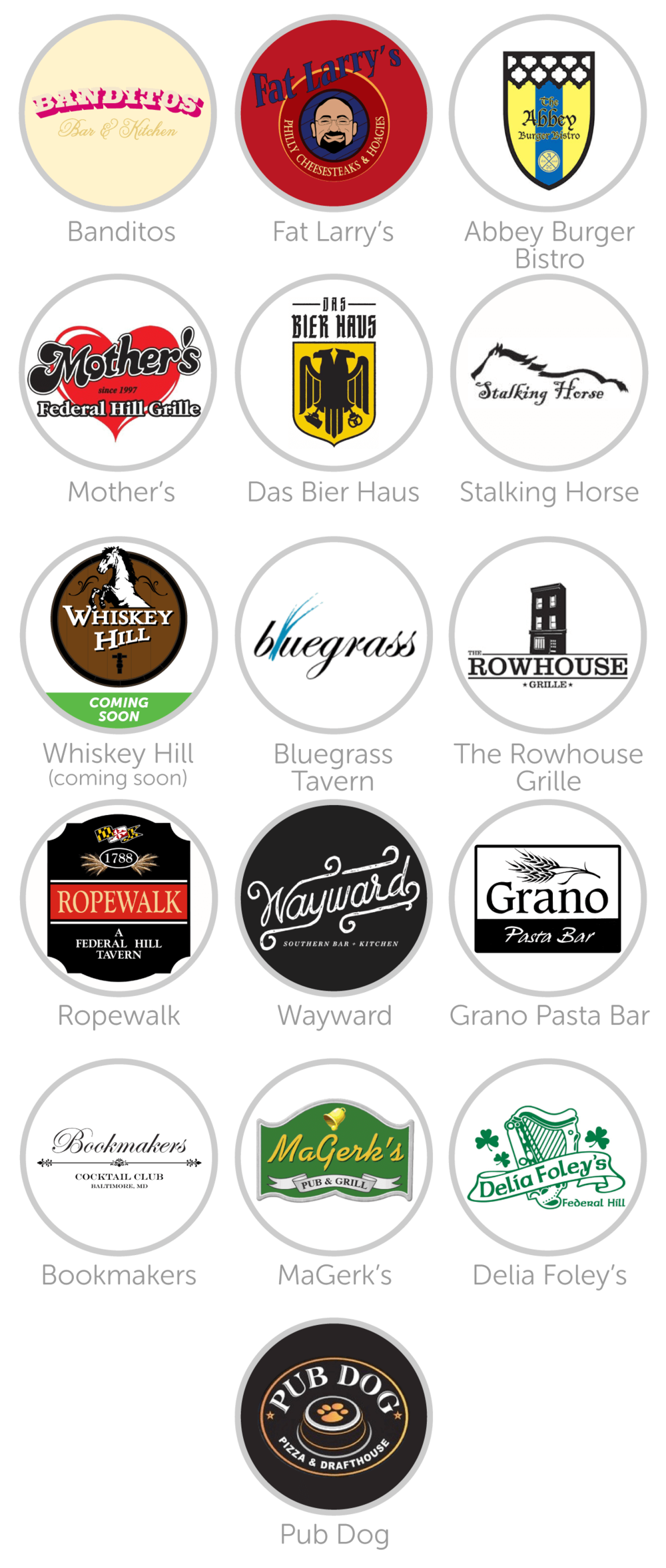 Fed-Hill-Spotluck-Restaurant-Logos-Federal