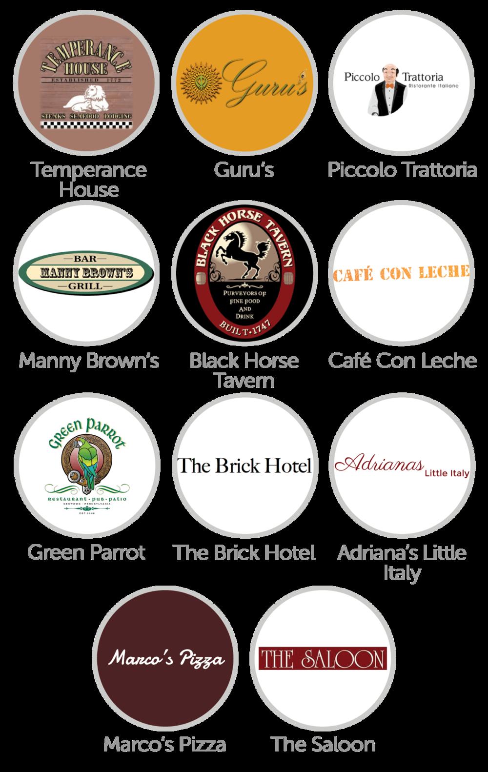 Newtown-Restaurant-Logos-Spotluck