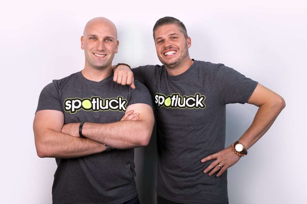 Dillon Tedesco (left) heads up our sales department and Josh Howe (right) is our Regional Director in the Pennsylvania area. They're thrilled to bring Spotluck to their hometown.