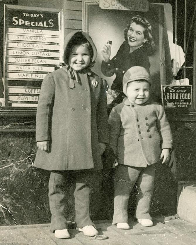 Pete & Georgia Panarites circa 1943